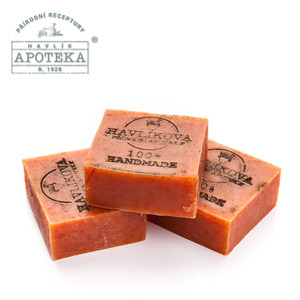 Havlik Apoteka, 라키트닉 올리브 비누_85g / Sea buckthorn soap with oil